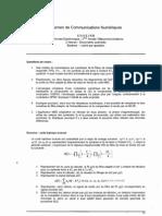 [TS210] Communications_num_riques - Partiel - 2005