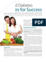 Diet and Diabetes-recipes for Success