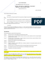 Planning Criteria for Digital Terrestrial Tv in Vhf Uhf