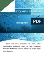 Proses Pengolahan Air Bersih