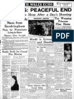 Queens Diamond jubilee - news from the archives