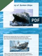 Ppt on Sunken Ships (Copy)