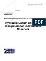 Design of Energy Dissipators
