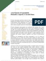 Attaccamento ed equanimità - Domande e risposte a Corrado Pensa