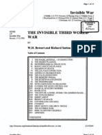 The Invisible Third World War by w h Bowart and Richard Sutton 9-27-1990