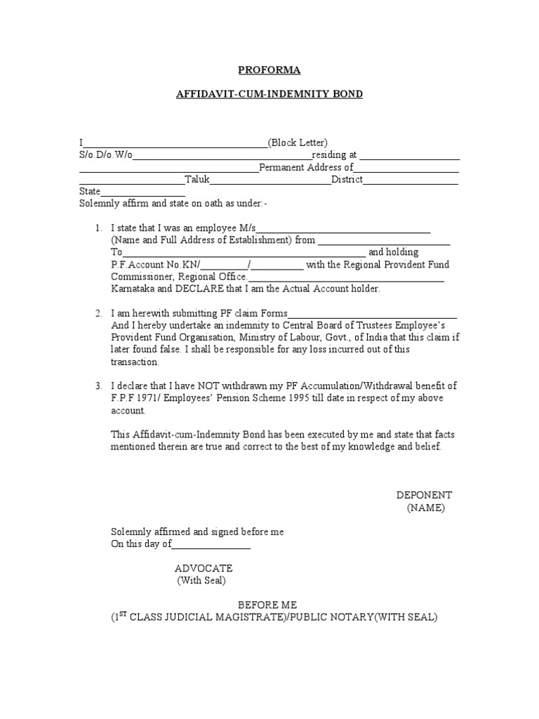doc415537 affidavit sample format doc564772 sample affidavit samples of affidavit