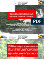 ponencia turismo