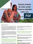Profession de foi - Joelle PREVOT-MADERE & Nemea DAMAS - Legislatives 2012