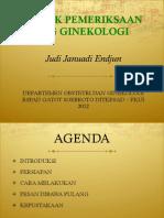 FKUI OBGIN USG GIN Induksi Teknik Pemeriksaan USG Ginekologi JJE, 20120529
