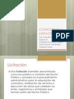 CONCURSOS Y LISITACIONES