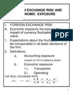 Int. Fin Lecture 10 Managing Economic Exposure