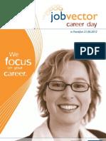 Begleitheft jobvector career day Frankfurt 2012