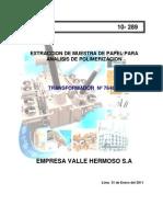 PPTR-TS - 10-- Extraccion de Muestra de Papel Transform Ad Or Stem Trento EVH1