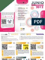 CAMON Madrid. Programación junio de 2012. Obra Social. CAM