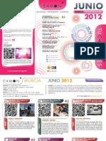 CAMON Murcia. Programación de junio de 2012. Obra Social. CAM