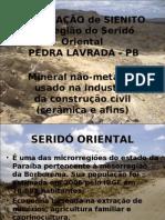 MINERAÇÃO DE SIENITO
