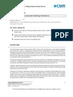 CMR INDA_Structured Cabling Market Update Q2_2011
