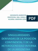 GEOGRAFÍA AMBIENTAL II mariana gonzález