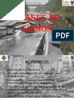 CLASES DE SISMOS