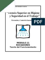 Modulo II-11 - Rociadores-Teoria de Funcionamiento