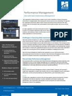 Merced Systems - Sales Performance Management Datasheet