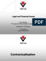 Legal and Financial aspects