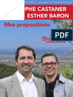 Propositions Castaner - Legislatives 2012
