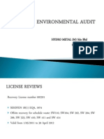 Environmental Audit Ppt