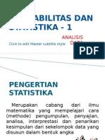Analisis data Probabilitas Dan Statistika
