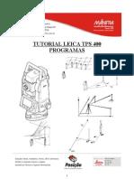 Tutorial TC400 Programas