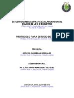 Ejemplo Machote Protocolo Fcayf Para Electros