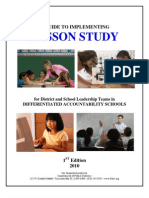 A Guide to Implementing Lesson Study