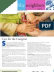 Healthy Neighbors Newsletter Spring 2012