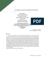Crescimento de microalgas em sistema autotrófi co estacionário