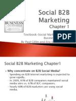 DCTC - Social B2B Marketing Chp 1