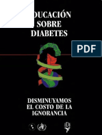 Educacion Sobre Diabetes
