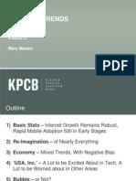 Kleiner Perkins Caufield Byers Internet Trendleri Raporu 2012