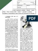 CSV tercera Guía Cuartos medios 2012