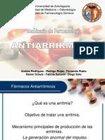 Seminario Farmacología1 Antiarritmicos)