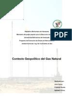 Contexto Geopolitico Del Gas Natural (1)
