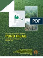 PDRB Hijau Karangasem