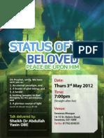 Status of the Beloved