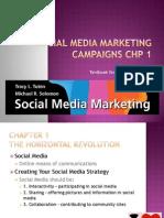 Social Media Marketing Campaigns Chp 1
