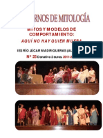 Revista Cuad. de Mitología n. 25 Aquí no...