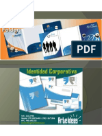 Folder Corporativo www.arteideas.pe