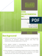 Durr Environmental Case
