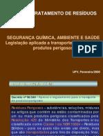 identificação para transporete de P.P