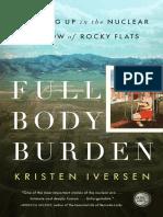 Full Body Burden by Kristen Iversen - Excerpt