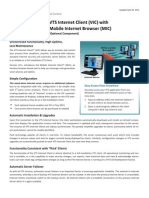 Datasheet VTS / VTScada - Internet Client (VIC) with Mobile Internet Browser (MIC)