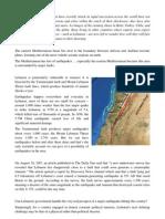 Seismic Activity in Lebanon